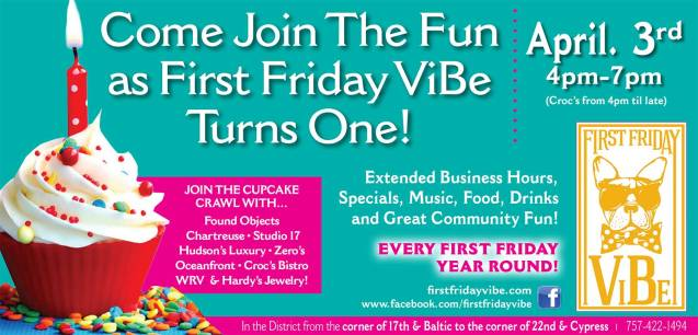 First Friday ViBe Turns ONE!